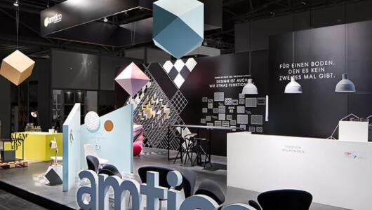 浙江湖州扫描仪企业展览展会搭建方案
