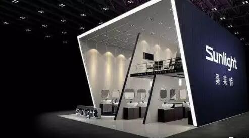 青島化工實驗設備行業展覽搭建設計方案