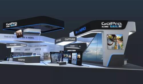 江西上饶卫浴电器企业展览展示设计案例